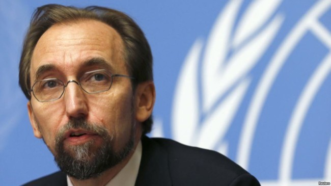 UN High Commissioner for Human Rights, Zeid Ra'ad Al Hussein was in Sri Lanka this week. Image Credit: voanews.com