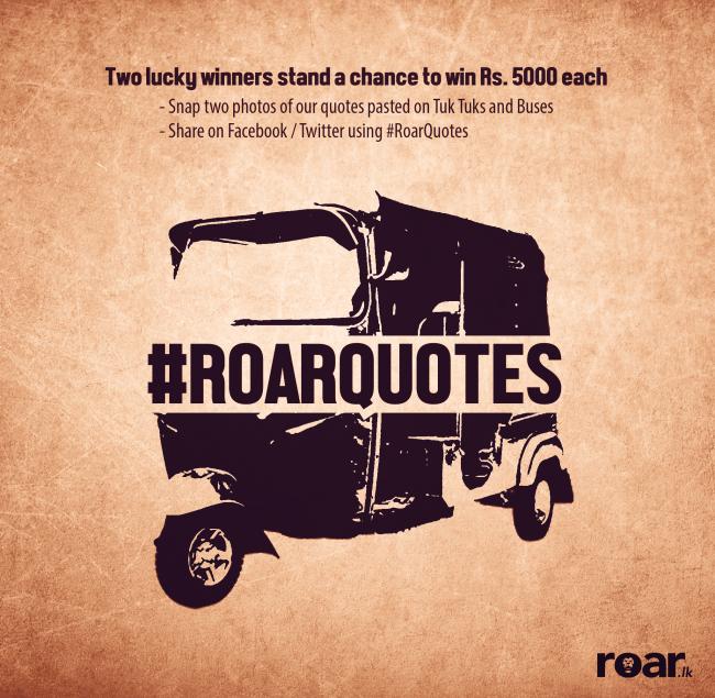 #RoarQuotes