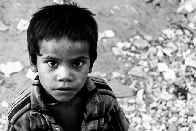 Children from the streets aren't always homeless, and are often used for more than just begging. Image credit: Nolan Peers/Flickr