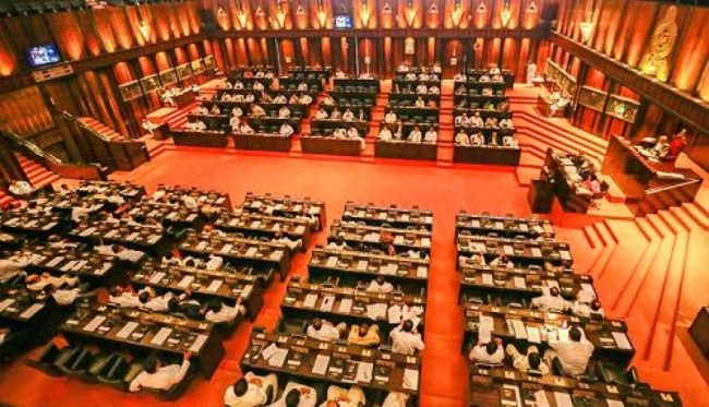 After its presentation in Parliament, the Cabinet can suggest amendments to the National Budget. Image courtesy: srilankanewslive.com