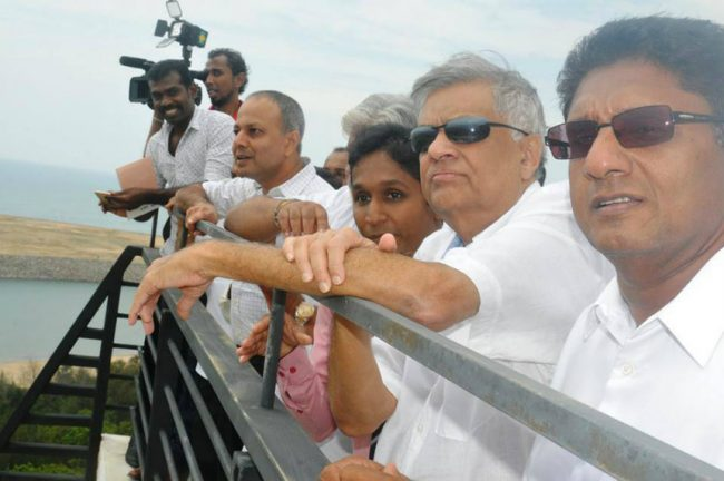The Yahapala Government's diliemma with regard to Hambantota has been an unenviable one - Image courtesy omlanka.net